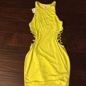 Urban outfitters bright neon lime green or yellow